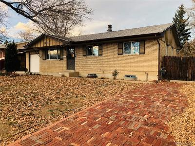 Denver Single Family Home Active: 1861 West 82nd Place
