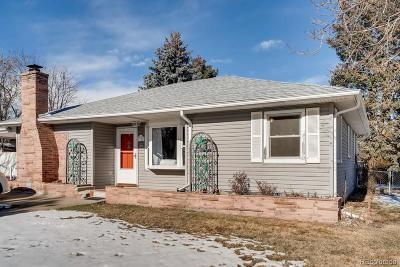 Wheat Ridge Single Family Home Under Contract: 6755 West 45th Avenue