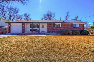 Arvada Single Family Home Active: 12472 West 65th Avenue