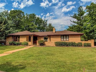 Wheat Ridge Single Family Home Under Contract: 3395 Union Street