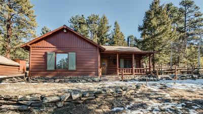 Golden, Lakewood, Arvada, Evergreen, Morrison Single Family Home Under Contract: 29201 Rainbow Hill Road