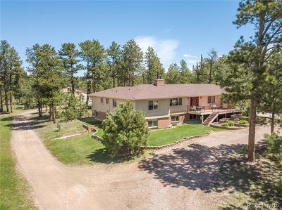 Colorado Springs Single Family Home Active: 7730 Sublette Road
