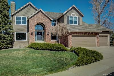 Highlands Ranch Single Family Home Active: 10072 Stratford Lane