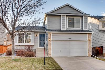 Highlands Ranch Single Family Home Active: 4983 Tarcoola Lane