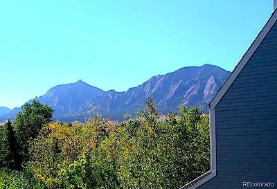 Boulder Condo/Townhouse Under Contract: 2301 Pearl Street #7
