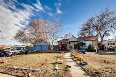 Thornton Single Family Home Under Contract: 9250 Aspen Drive