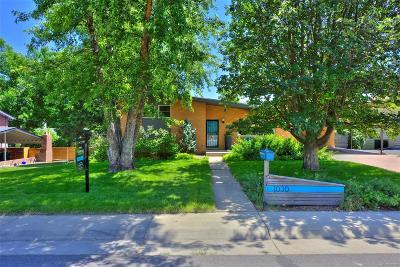Golden Single Family Home Under Contract: 1030 Zinnia Street
