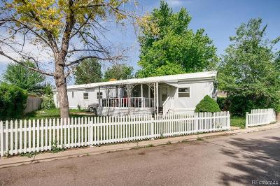 Denver Single Family Home Under Contract: 8541 Adams Court