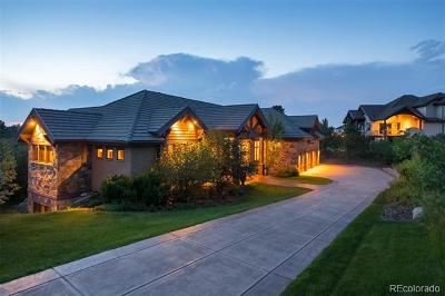 Castle Rock CO Single Family Home Active: $2,295,000