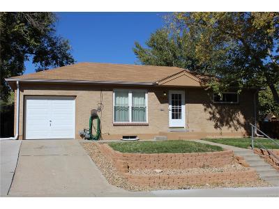Northglenn Single Family Home Active: 191 Emery Road