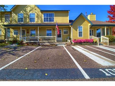 Littleton Condo/Townhouse Active: 10587 West Maplewood Drive #B