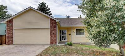 Wheat Ridge Single Family Home Active: 3705 Depew Street