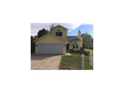 Broomfield Single Family Home Under Contract: 3966 Hilary Court