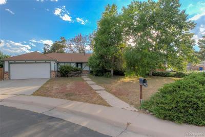 Aurora CO Single Family Home Active: $275,000