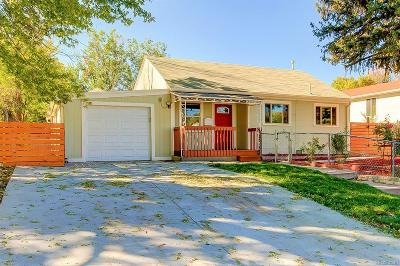 Denver Single Family Home Under Contract: 2345 South Knox Court