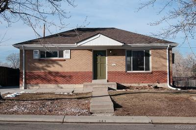 Northglenn Single Family Home Under Contract: 141 East 105th Avenue