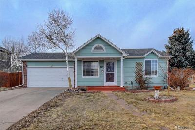Castle Rock Single Family Home Under Contract: 379 North Wagonwheel Trail