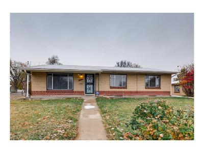 Aurora Single Family Home Under Contract: 11290 East 23rd Avenue