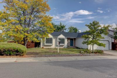 Littleton Single Family Home Under Contract: 8552 South Everett Street