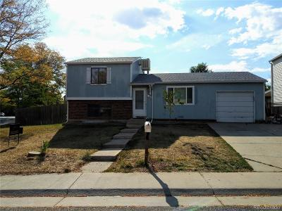 Aurora Single Family Home Active: 4220 South Quintero Way