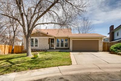 Westminster Single Family Home Under Contract: 10870 Tennyson Court
