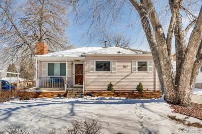 Littleton Single Family Home Under Contract: 5328 South Foresthill Street