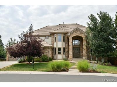 Lone Tree Single Family Home Active: 9525 South Shadow Hill Circle