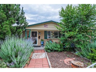 Aurora, Denver Single Family Home Under Contract: 8370 Delaware Street