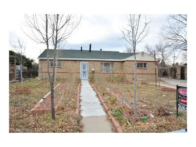 Aurora Single Family Home Active: 13130 East 7th Avenue