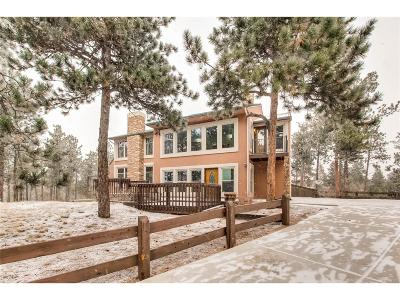 Monument Single Family Home Under Contract: 17785 Caribou Drive