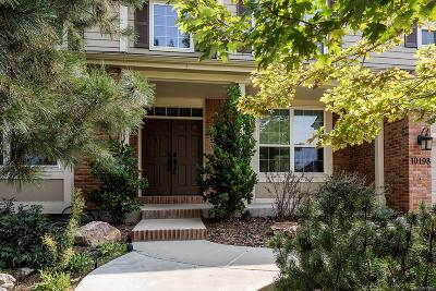 Highlands Ranch Single Family Home Under Contract: 10198 Briargrove Way