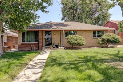 Single Family Home Sold: 3232 Leyden Street