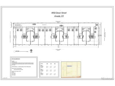 Arvada Residential Lots & Land Active: 4950 Dover Street