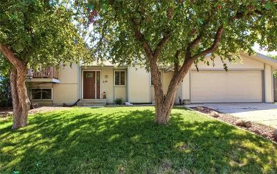 Broomfield Single Family Home Under Contract: 3116 West 132nd Court