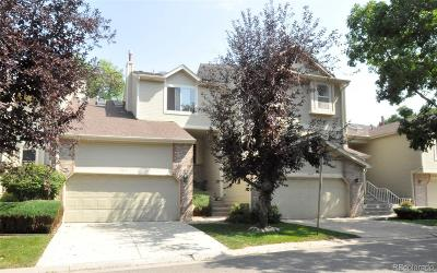 Littleton Condo/Townhouse Active: 9545 West Hinsdale Place