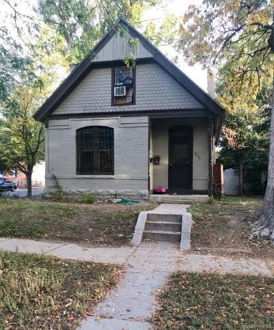 Denver Single Family Home Active: 2555 West 39th Avenue