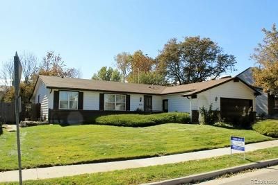 Arvada Single Family Home Active: 8329 Chase Drive