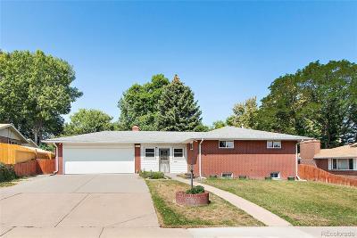 Wheat Ridge Single Family Home Under Contract: 3521 Allison Street