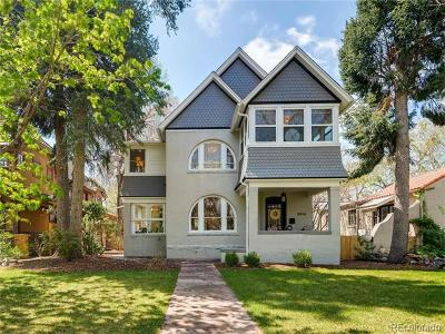 Denver Single Family Home Active: 2215 South Columbine Street