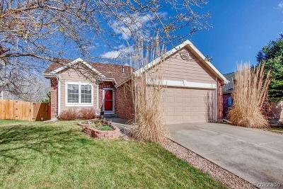 Broomfield Single Family Home Under Contract: 13126 Alcott Place