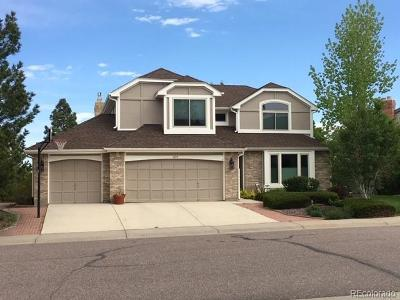 Castle Pines Single Family Home Active: 309 Clare Drive