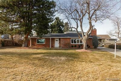 Wheat Ridge Single Family Home Active: 3285 Independence Court