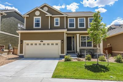 Castle Rock Single Family Home Under Contract: 2617 Leafdale Circle