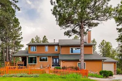 Franktown Single Family Home Under Contract: 551 Nob Hill Trail