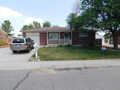 Northglenn Single Family Home Under Contract: 11832 Gaylord Way