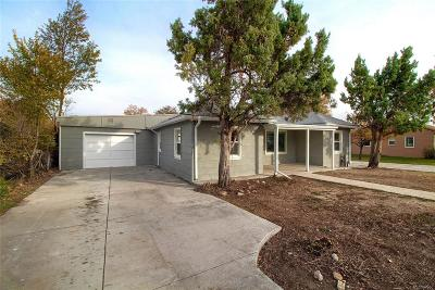 Westminster Single Family Home Under Contract: 7130 Vrain Street