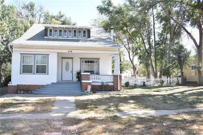 Elbert County Single Family Home Active: 416 Pueblo Avenue