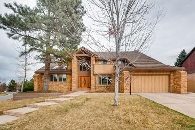 Lone Tree Single Family Home Active: 7884 Silverweed Way