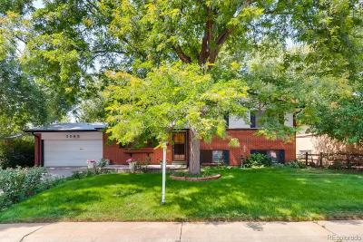 Denver Single Family Home Active: 3065 South Hobart Way