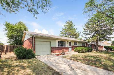 Aurora Single Family Home Under Contract: 14937 East Security Way